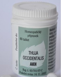 AKH Thuja Occidentalis tbl.60